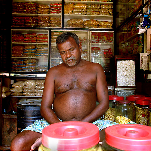 Photo: 4 Shop owner, Jaipur, India (c) Romain Philippon