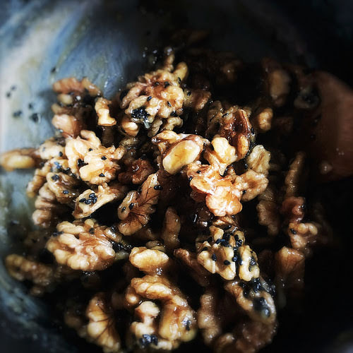 Chinese, recipe, Candied Walnuts, candy walnut, caramel walnut, sugar walnut,  琥珀核桃, snack, dessert, chinese new year