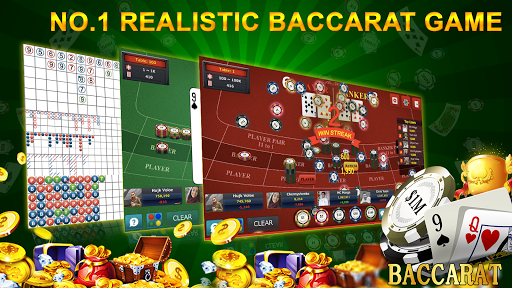 Baccarat 9 - Online Casino Card Games android2mod screenshots 1