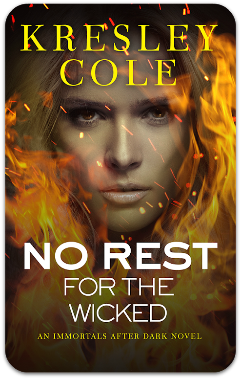 Cover: No Rest For the Wicked | Kresley Cole