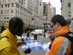 Photo: Buying tickets for the City Sights Tour