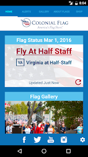 Colonial Flag App- screenshot thumbnail