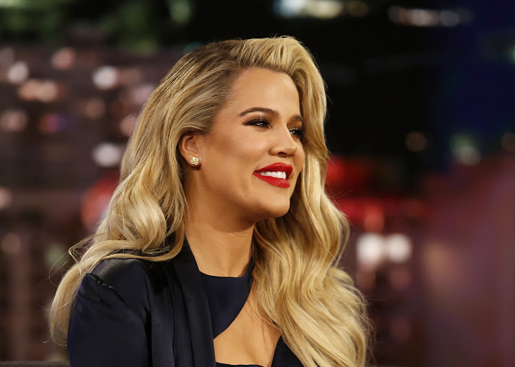 Khloe Kardashian on the 'Jimmy Kimmel Live!' show on January 4 2018.