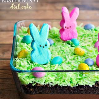 Hoppy Easter Bunny Dirt Cake