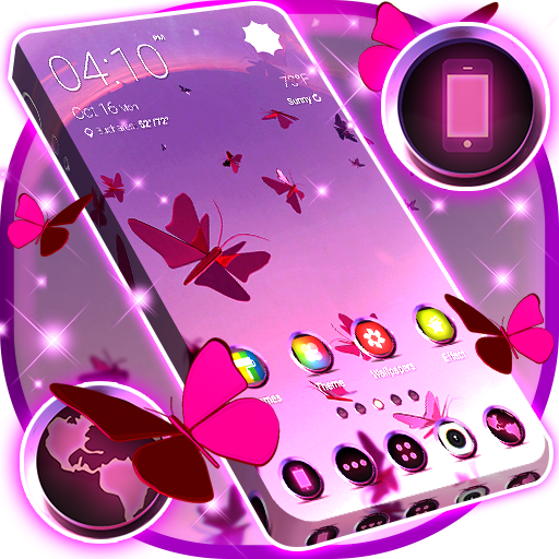 Butterfly Launcher Themes app (apk) free download for Android/PC/Windows