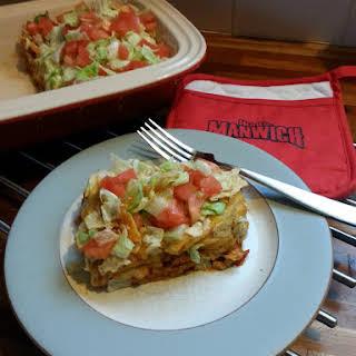 Easy Taco Casserole.