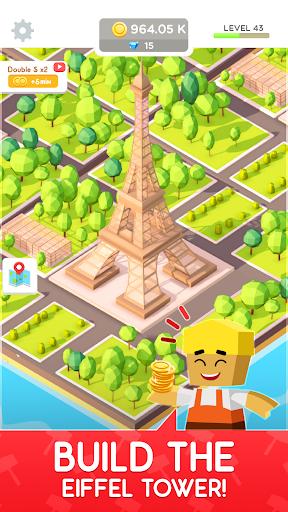 Idle Landmark Tycoon - Builder Game 1.28 Screenshots 5