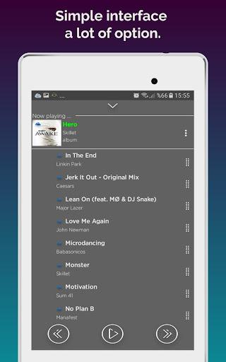 Cloudist - Free Cloud Music Player 8.4 screenshots 14