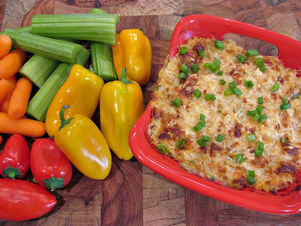 Hot Crab and Artichoke Dip – Keto, Low Carb, Gluten Free