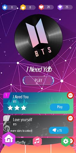 BTS Piano Tiles - Kpop Apk 2
