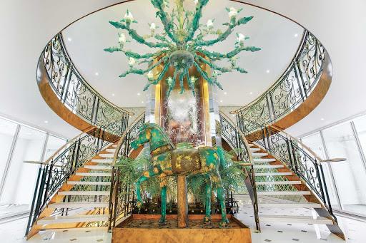 ss-catherine-lobby.jpg - The elegant, light-filled lobby of Uniworld's S.S. Catherine.