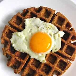 Sweet Potato & Buckwheat Waffles Recipe