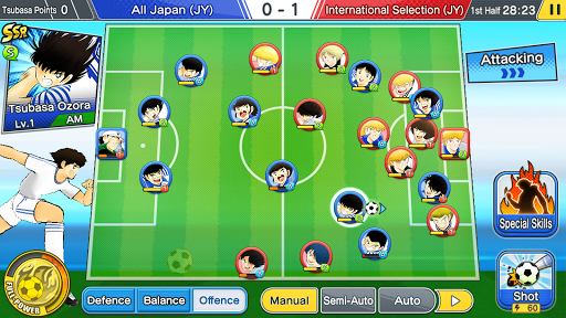 Captain Tsubasa: Dream Team screenshots 1