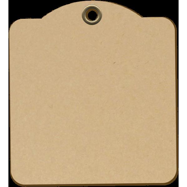 Square Tags-Kraft
