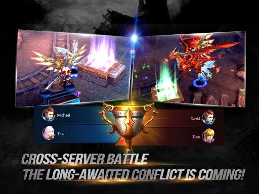 Goddess: Primal Chaos - SEA Free 3D Action MMORPG astuce APK MOD capture d'écran 1