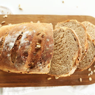Vegan Whole Grain Seeded Bread