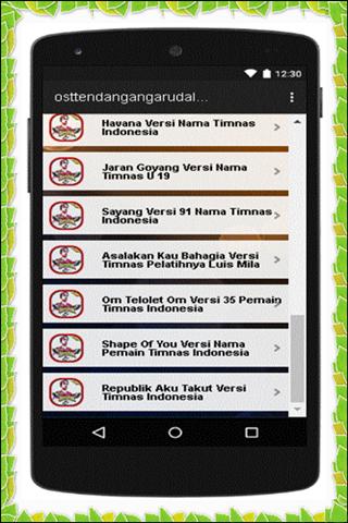 Ost Tendangan Garuda Lengkap 1.0 screenshots 5