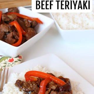 Beef Teriyaki.