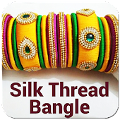 Silk Thread Bangles Offline