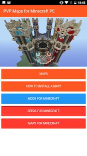 PVP minecraft maps - náhled