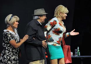 Photo: WIEN/ Kammerspiele: CHUZPE von Lily Brett. Premiere am 22.11.2012. Inszenierung: Dieter Berner. Mit Gabriele Schuchter, Otto Schenk, Grazyna Dylag. Foto: Barbara Zeininger.