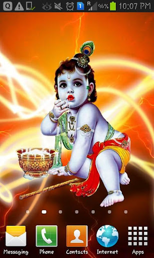 Lord Krishna Live Wallpaper TM