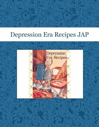 Depression Era Recipes JAP
