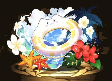 たまドラの浮き輪