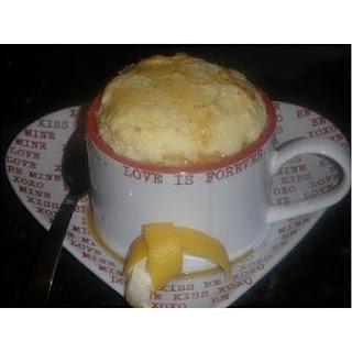 Lemon Souffle With Warm Honey Drizzle