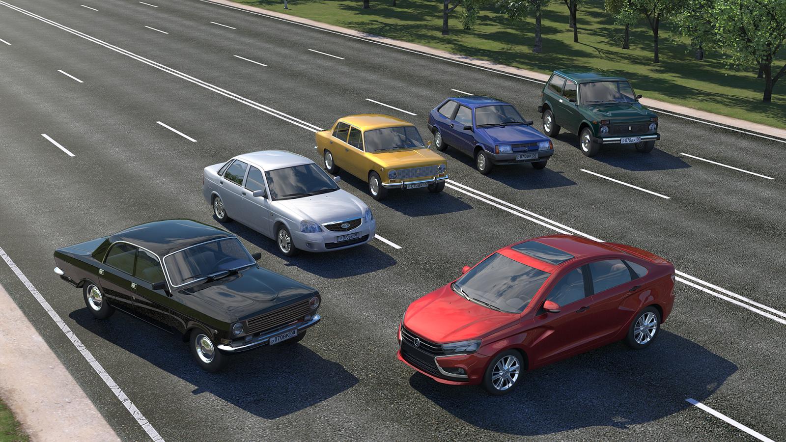 Driving zone russia screenshot