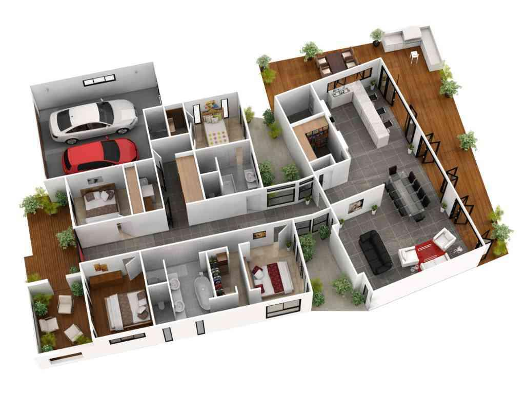 3d home floor plan ideas screenshot - Home Floor Plans