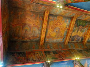 Photo: Ceiling of the temple.