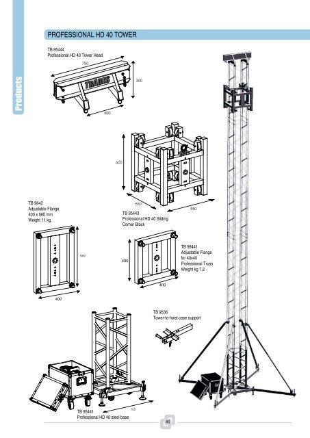 Professional HD 40 Tower - Trabes