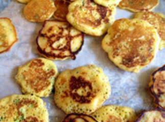 Crispy Green Onion Hoecakes Recipe