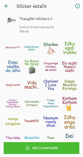 Download Tamil stickers for WhatsApp - WAStickerApp on PC & Mac with