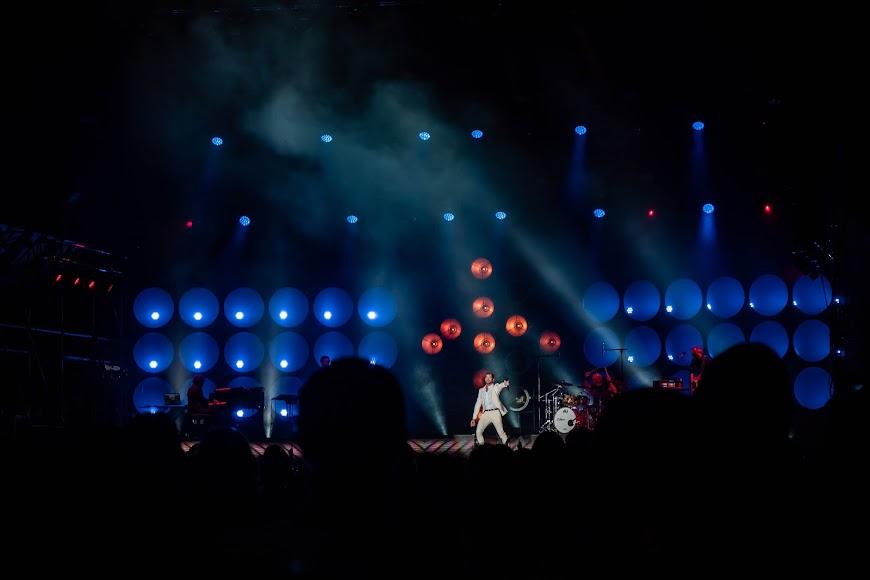 David Bisbal entonó de una forma espectacular cada una de sus canciones