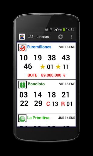 LAE - Loterías
