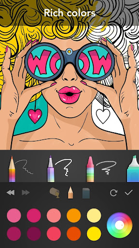 Girls Coloring Book  screenshots 1