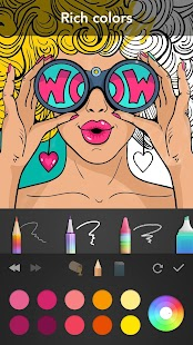 Girls Coloring Book- screenshot thumbnail