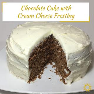 Chocolate Cake & Cream Cheese Frosting Recipe