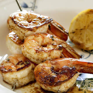 Grilled Garlic Shrimp.