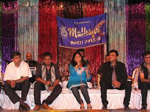 Photo: Malhaar Singers - Sameer, Nirupama, Viren