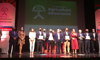 En imágenes: VIII Premios de la Agricultura Almeriense