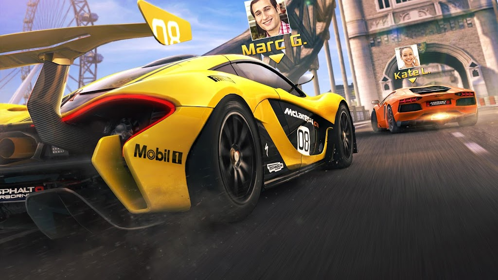 Asphalt 8 Racing Game - Drive, Drift at Real Speed poster 1