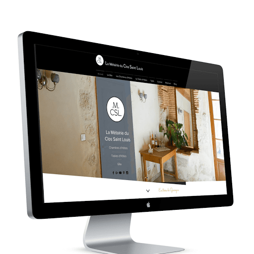 Site internet pour gîte chambres d'hôtes