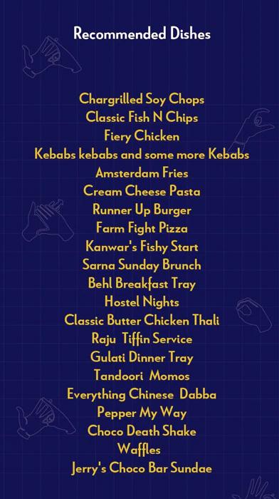 Echoes menu 1