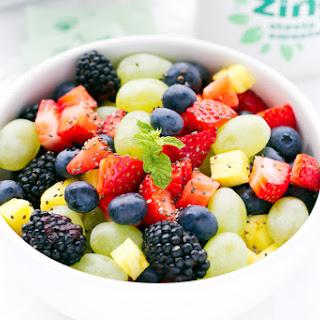 Fresh Fruit Salad With Zing™ Zero Calorie Sweetener
