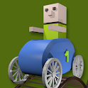 Toy RollerCoaster 3D icon