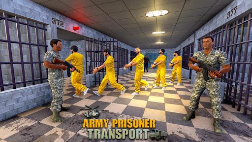 Army Prisoner Transport: Criminal Transport Games apkmind screenshots 6