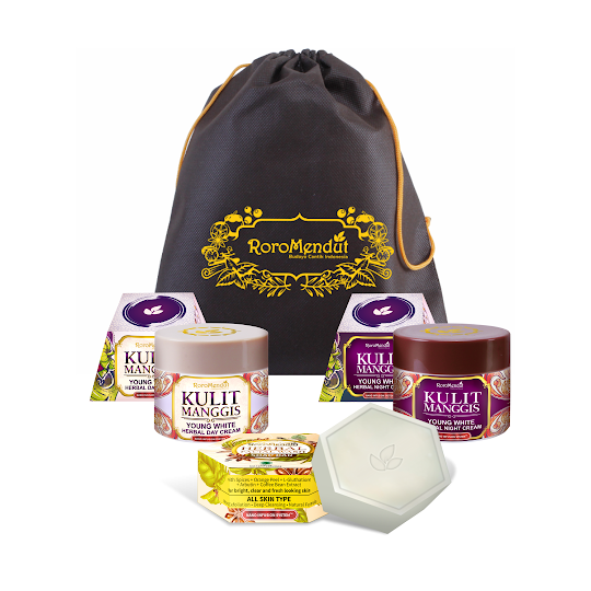 Paket Starter Kulit Manggis RoroMendut cream roro mendut krim wajah herbal aman ibu menyusui hamil